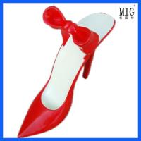 China brand and trademark commercial exhibition model shoes statue decoration items by fiferglass material wholesale