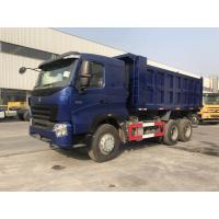SINOTRUK HOWO A7 6x4 Heavy Duty Dump Truck With ZF8118 Steering And HW19710 Transmission Manufactures