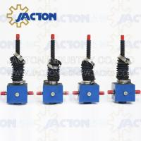 Durable Lifting JTC25 25kn Manual or Auto Custom Stroke Lowering Screw Jack Manufactures