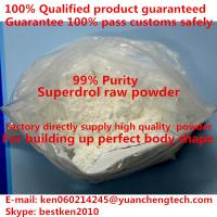 China Muscle Gain Weight Loss Androgen Steroid Hormones Powder Methyldrostanolone Superdrol on sale