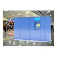 Indoor Airport Pin Code Luggage Lockers With Cell Phone Charging Function Manufactures