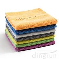 China Soft Fast Drying Microfiber FaceTowels Washcloths Highly Absorbent Cleaning Towel on sale