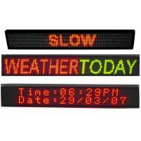 Multi Line LED Scrolling Message Board Three and Four Lines LED Sign 32 x 128 Manufactures