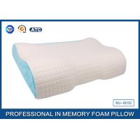 Quality Different Height  Wave Memory Foam Contour Pillow with Deluxe Comfort Pillow Cover for sale