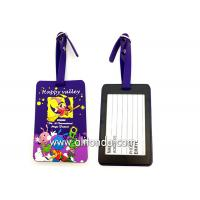 Soft PVC rubber luggage tag supply personalized luggage tag custom Manufactures