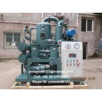 Insulating Oil Filtration Equipment/Vacuum Transformer Oil Water Separator ZYD-D Manufactures