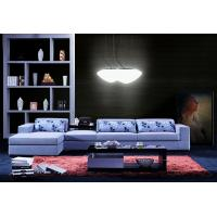 L.A028J-China Lizz Grey Corner  Fabric Sofas America Style Manufactures