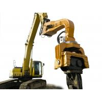 22T Excavator Mounted Sheet Pile Driver , Hydraulic Pile Driver For Excavators Manufactures