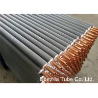 Quality 11 FPI Extruded Fin Tube / Heat Exchanger Finned Tube 25000MM Length for sale