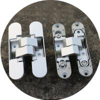 3d concealed hinges Zamac invisible hinge 180 degree adjustable hinges Manufactures