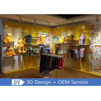 Nice Fresh Wooden Lacqer Children's Boutique Store Fixtures With Led Lighting Manufactures