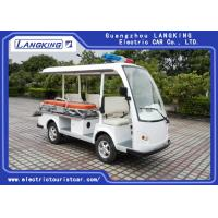 4 Seats One Bed Electric Tour Bus For Sport Center / Electric Sightseeing Vehicle Manufactures