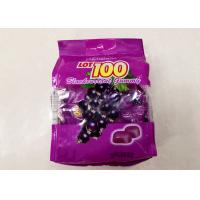 Jelly Soft Candy Snack Food Packaging Bags Eco Friendly Customized Size / Color Manufactures