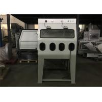 Mixed Water Wet Abrasive Blasting Cabinet , Recycle Common Sandblast Cabinet Manufactures