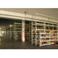 Supply Chain Carton Flow Rack Pallet Racking Shelves Placed Roller / Channel Shaped Bracket