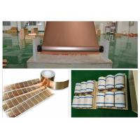 Eco Friendly Lithium Ion Battery Copper Foil / Large Copper Sheet Roll Manufactures