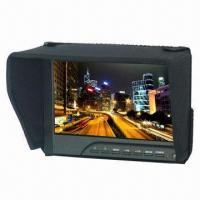 7-inch Camera Field Monitor with HDMI, AV, VGA Input, Peaking Filter, Underscan, Overscan, 400cd/m2 Manufactures