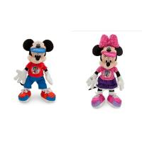 Fashion Original Sport Mickey Mouse and Minnie Mouse Disney Plush Toys 12 inch Manufactures