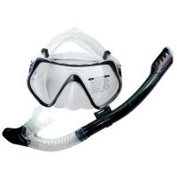 Dry Top Diving Mask Snorkel Set , Dive Mask And Snorkel Set For Water Sports Equipment Manufactures