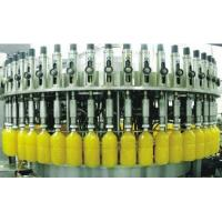 Carbonated Soft Drink Filling Machine , Aluminum Tin Can Gas Beverage Production Line Manufactures