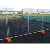 Hot Dipped Galvanized Temporary Fence Convenient Installation for Construction Site