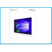 China Microsoft Windows 10 Professional  64Bit Software retail pack  + OEM Key ( COA ) on sale
