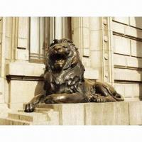 Bronze Lion Sculpture, Plaster Mold and Lost Wax Casting, Copper Sculpture, Bronze Statues Manufactures