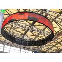 P4 Indoor High Definition Flexible Curve LED Billboards RGB 3 in 1 Manufactures