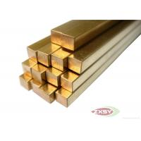 Quality Electrical Grounding Brass Copper Rods Bonded Rods With High Strength for sale