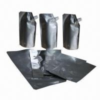 Stand pouches for food, made of laminated Manufactures