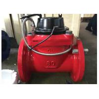 Quality R80 Cold Hot Woltman Water Meter Heating Supply Size DN100 Ductile Iron Housing for sale