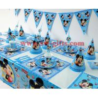 China Disney Mickey Mouse Theme baby shower Kids Birthday Party Decoration Set Party Supplies Birthday Pack cupcake stand on sale