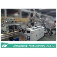 Black Color Wpc Extrusion Line , Small Size Wpc Profile Extrusion Machine Manufactures