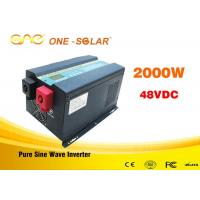 Low frequency pure sine wave ups intelligent power inverter 2000w 12v 24v 110v with charger Manufactures