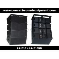 """Concert Sound Equipment / 580W Line Array Speaker With1.4""""+2x10"""" Neodymium Drivers Manufactures"""