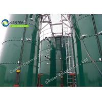 China 50000Gallon Glass Fused To Steel Wastewater Storage Tanks For Municipal on sale