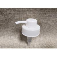 Plastic Cosmetic Bottle Pump , PP Non Spill Body Lotion Pump 38 / 410 Manufactures