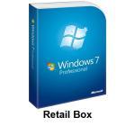 Microsoft Windows 7 Professional  Retail Box Manufactures