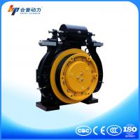 WTD1 800KG model permanent magnet elevator gearless machine with elevator control panel Manufactures