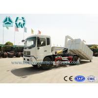 Detachable Carriage Hook Lift Waste Management Trucks With Mechanical Suspension Manufactures