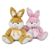 Fashion Holiday Stuffed Easter Bunnies / Easter Plush Bunnies Custom Made Manufactures