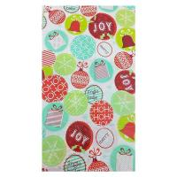 China Tear Resistant Colorful Plastic Gift Wrap Bags , Large Christmas Bicycle Bag on sale