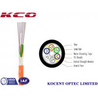 China Custom 12 Multi Strand Fiber Optic Cable Single Mode PE Material Indoor Outdoor on sale