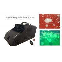 1000 Watt Fog Bubble Machine With 6*3w LED / Timer / Remote Control Manufactures