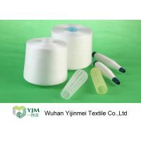 Long Lasting Ring Spun Polyester Yarn On Dyed Plastic Tube With Smooth Texture Manufactures
