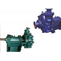 Low Pressure Electric Slurry Pump / Slurry Sump Pump One Stage Structure WA Manufactures