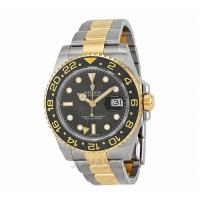 Rolex GMT-Master II Black Automatic stainless steel and 18kt yellow gold Mens Watch116713B Manufactures