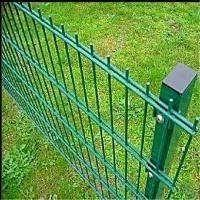 PVC Powder Coated/Galvanized Double Wire Mesh Fence Panels Manufactures