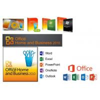 China 100% Original Microsoft Office 2010 Home and Business Versions For Windows 7/8/10 on sale