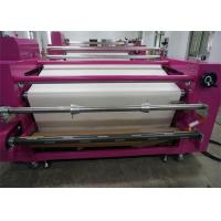Air - Pressure Correct Edge Roller Heat Press Machine For Child Clothes SGS Manufactures